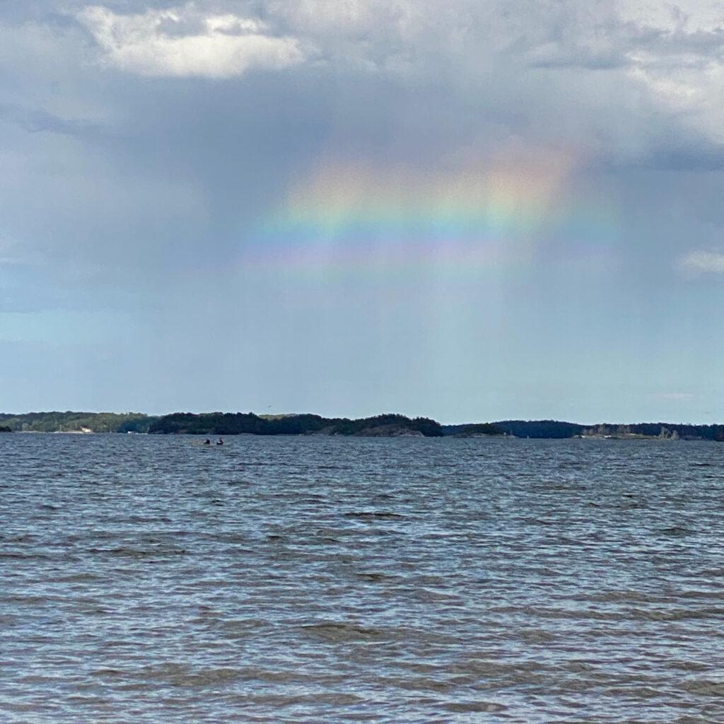 Regnbågsmoln Gålö.
