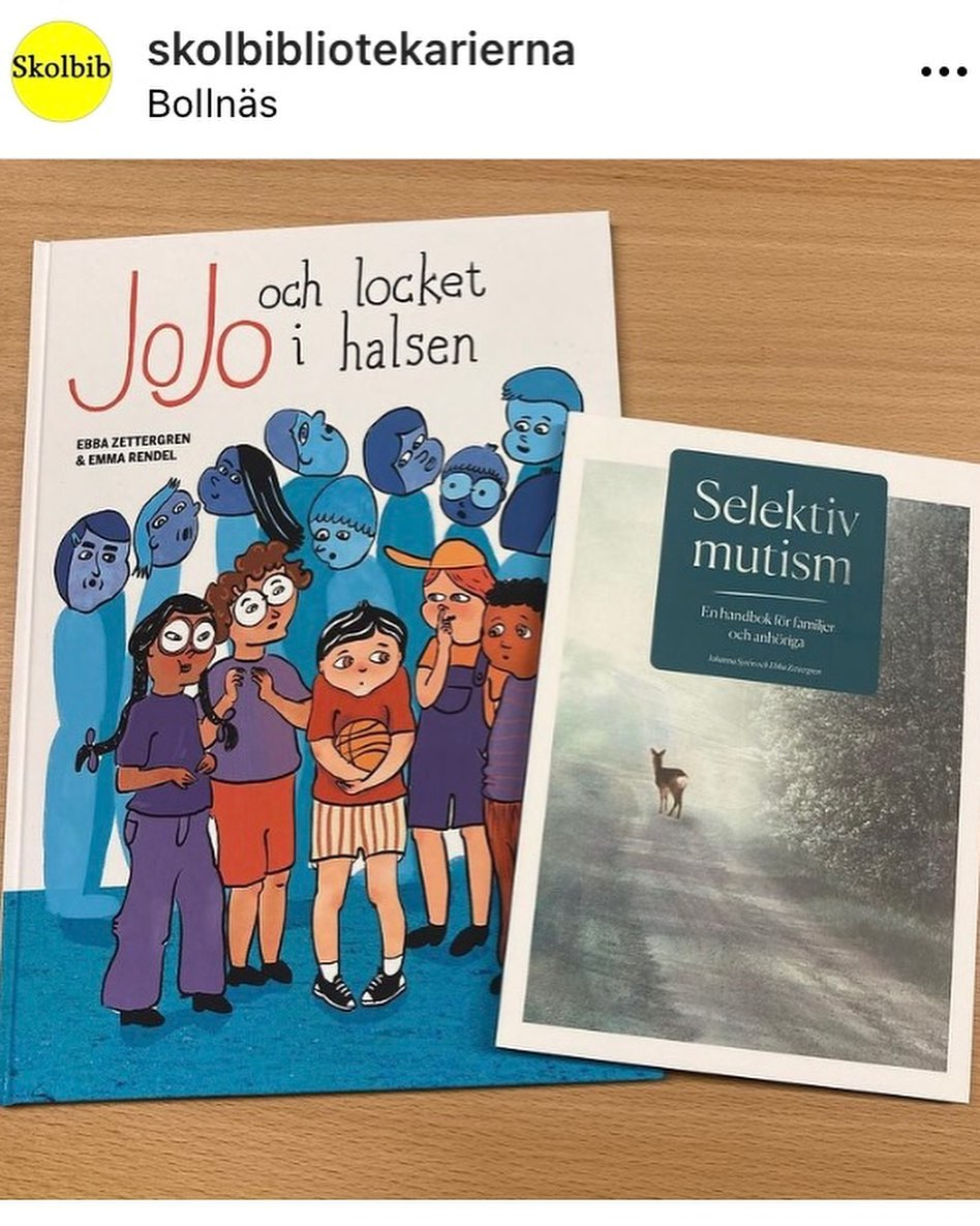 Barnböcker om Selektiv mutism.